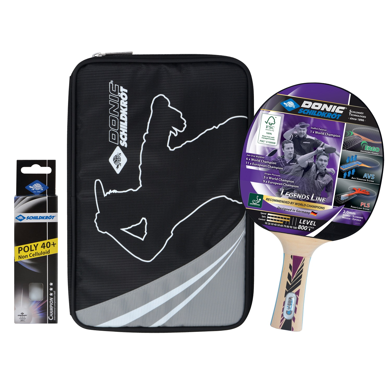 Raketa na stolný tenis DONIC Legends 800 FSC - darčekový set