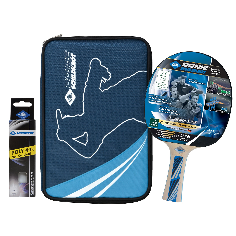 Raketa na stolný tenis DONIC Legends 700 FSC - darčekový set
