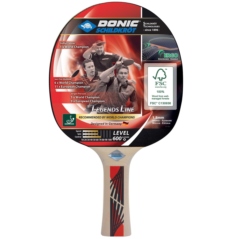 Raketa na stolný tenis DONIC Legends 600 FSC