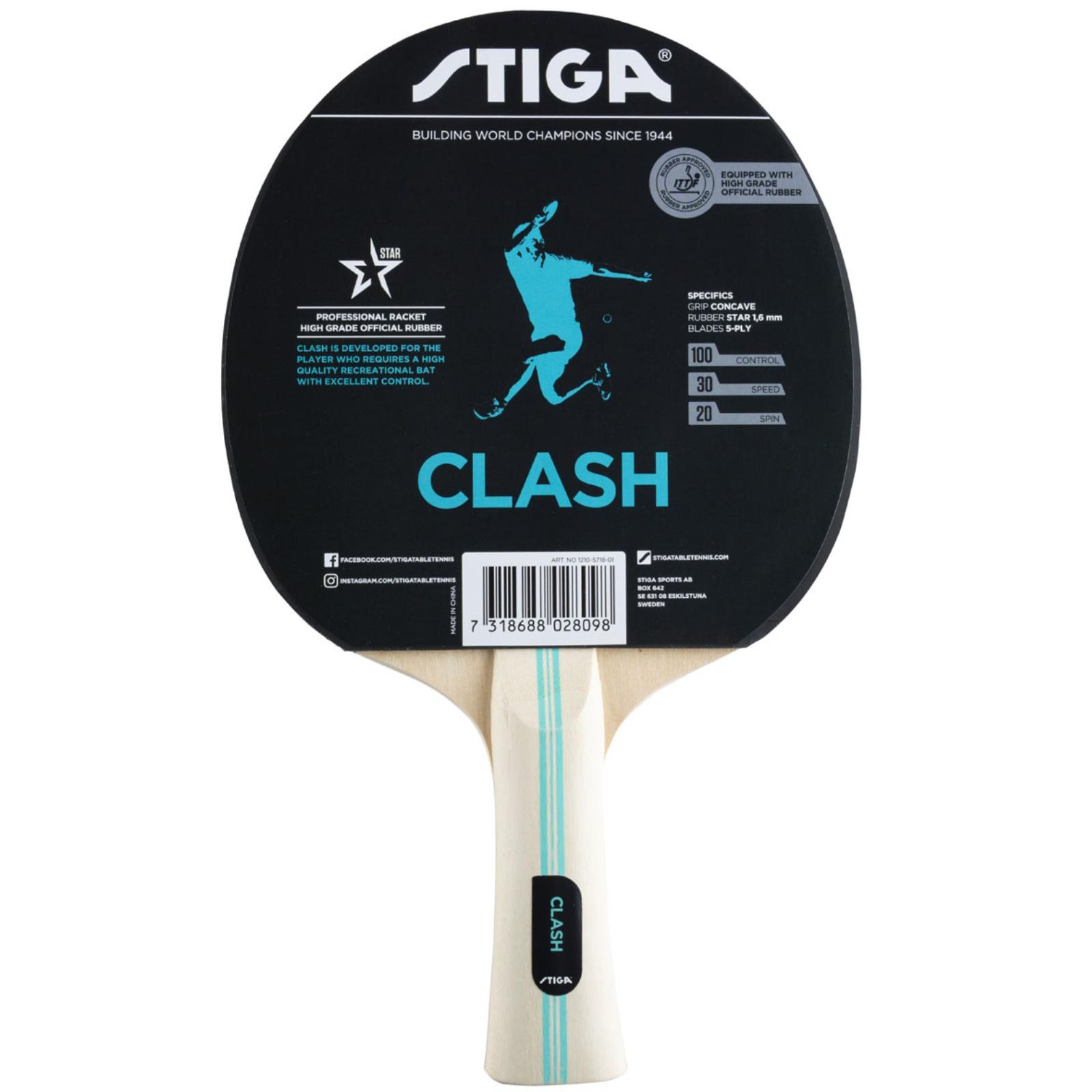 Raketa na stolný tenis STIGA Clash