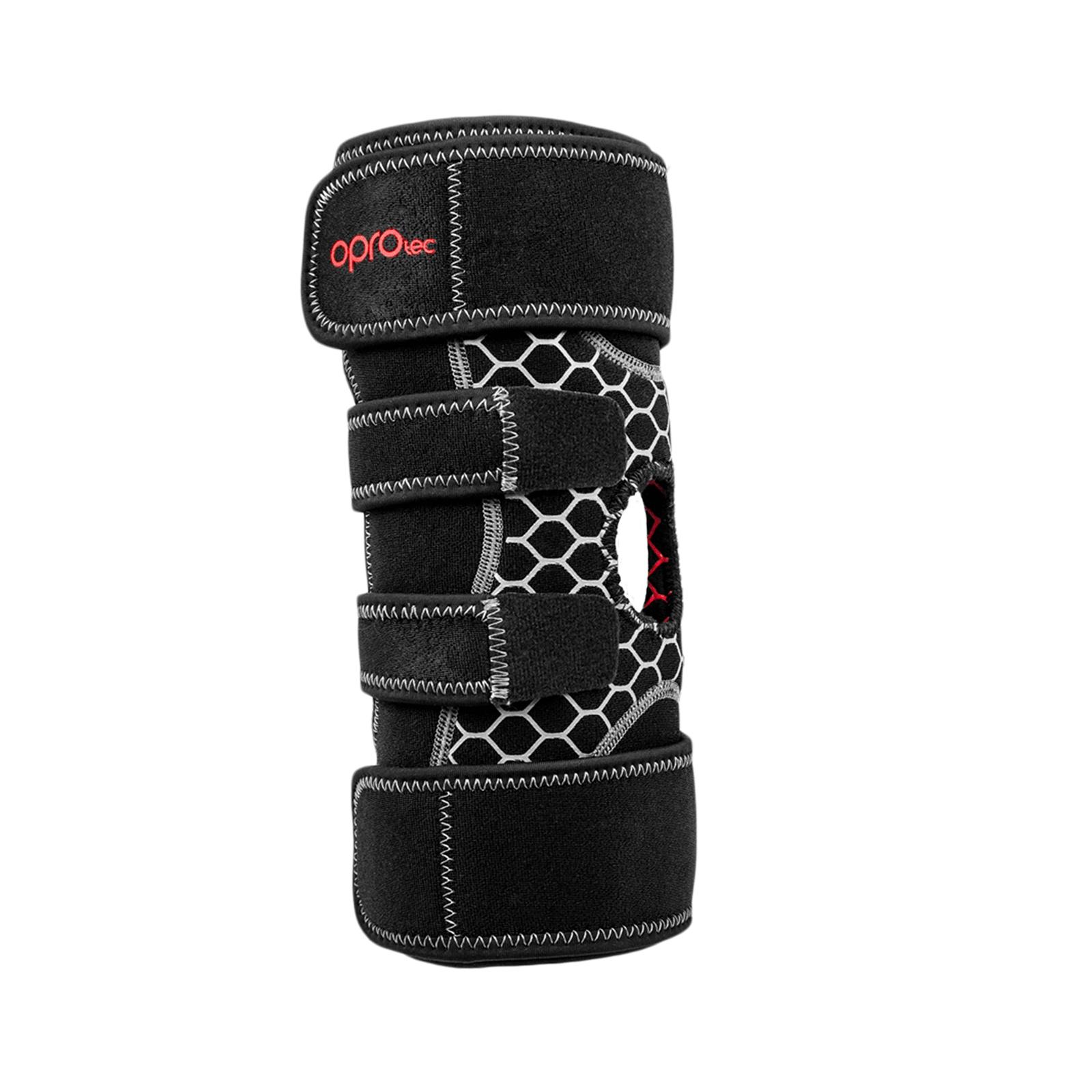 Ortéza na koleno nastaviteľná s otvorom OPROtec
