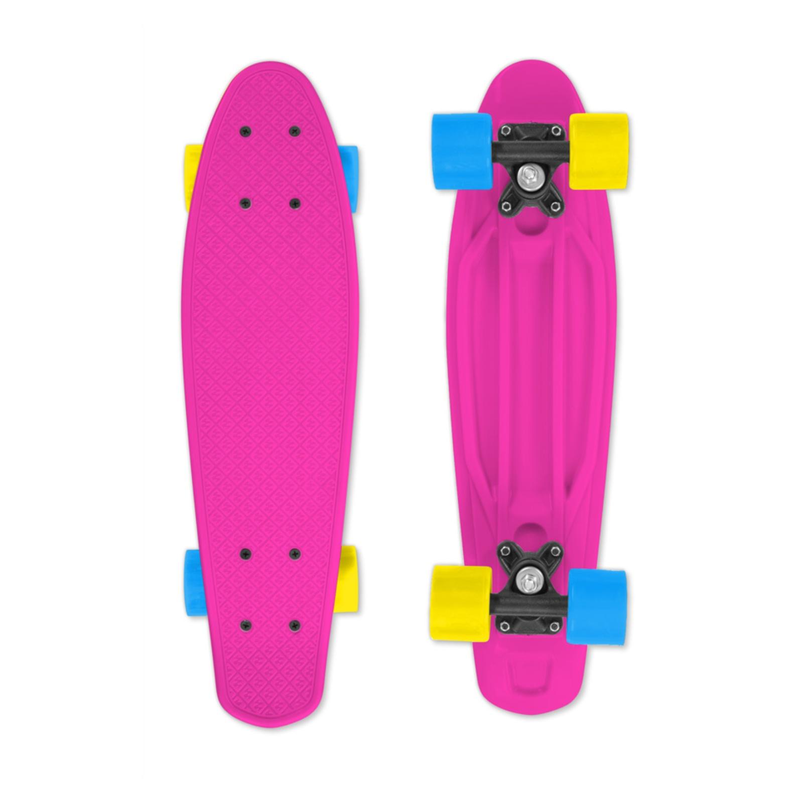 Skateboard STREET SURFING Fizz Board - ružový