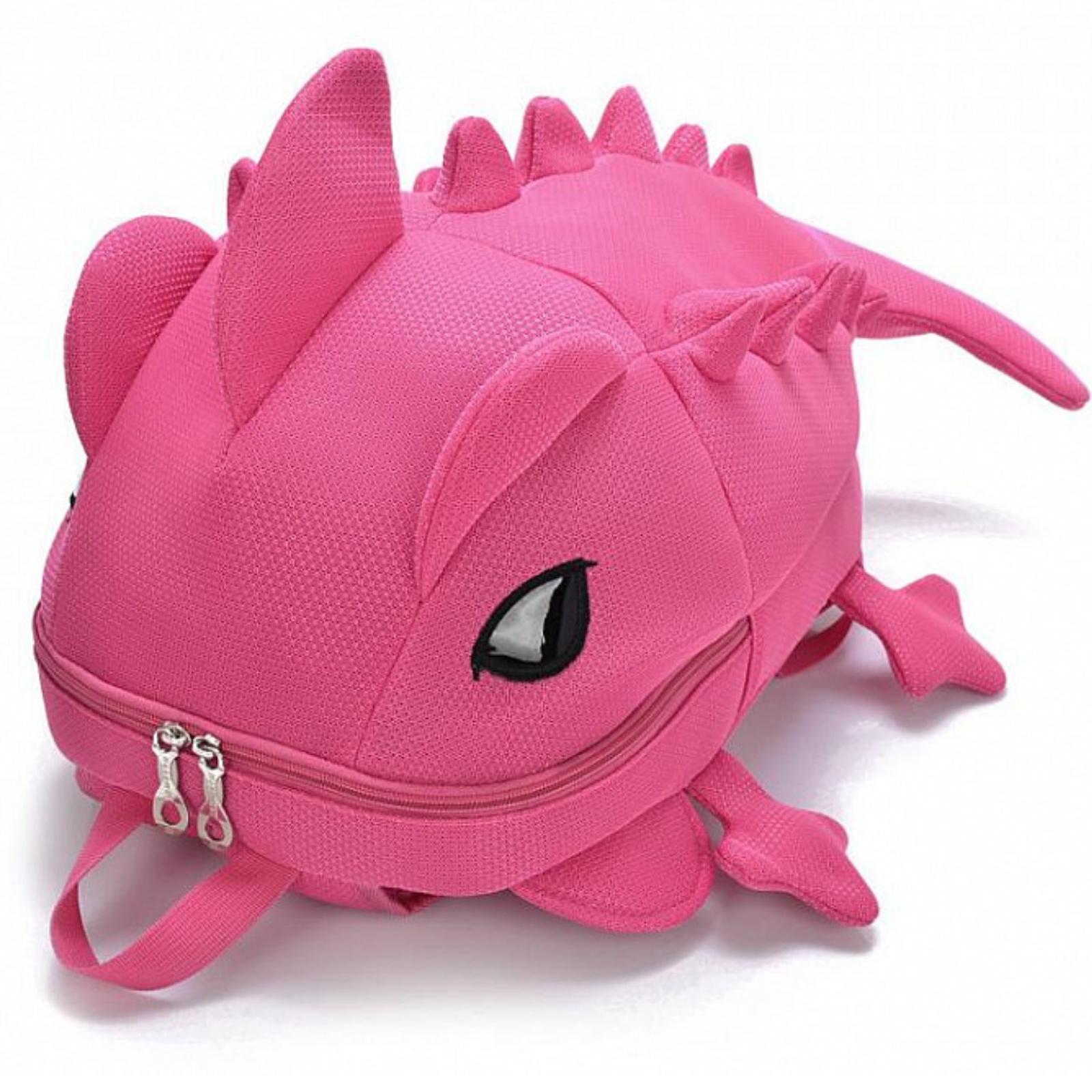 Detský batoh AGAMA Dino - ružový