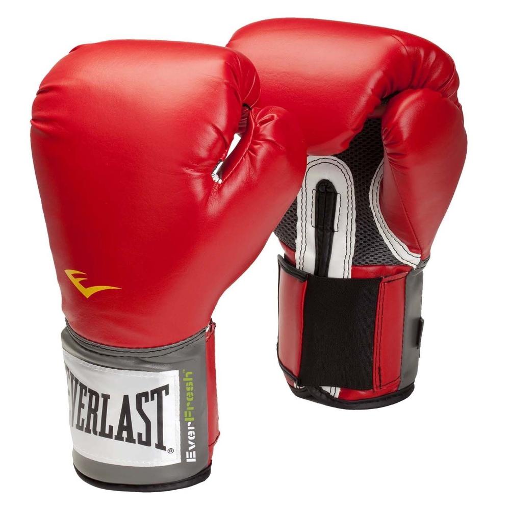 Rukavice EVERLAST Pro Style Training - červené 12oz.