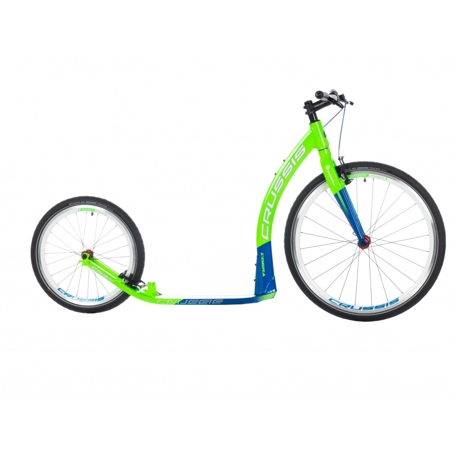 Kolobežka CRUSSIS Cobra 4.2 zeleno-modrá