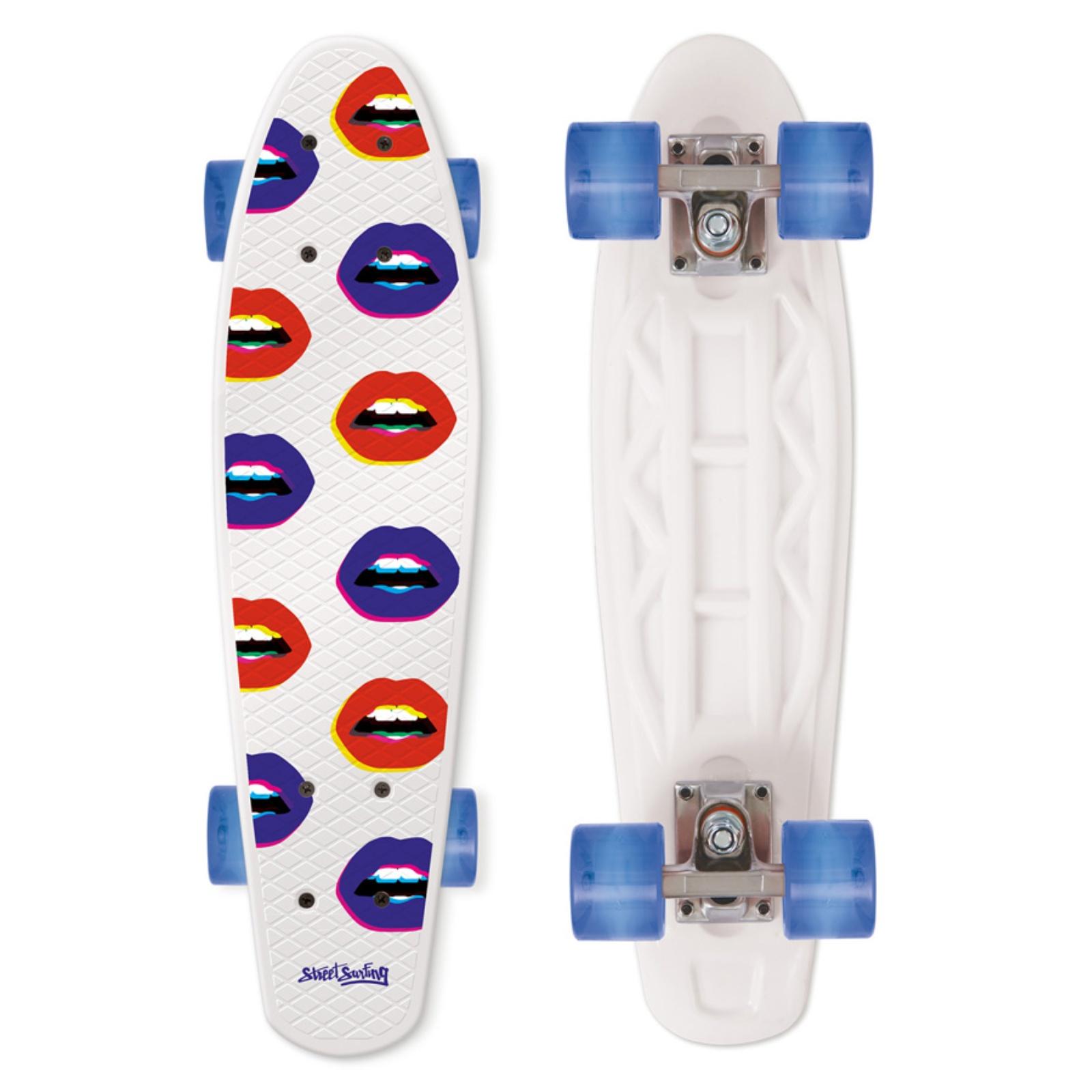 Skateboard STREET SURFING Pop Board Kiss Me