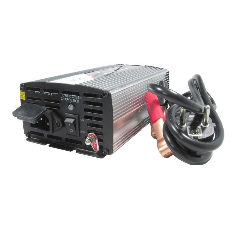 Nabíječka Pb akumulátorů 12V-20A automatická