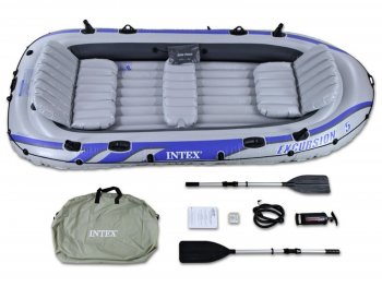 Nafukovací čln INTEX Excursion 5 Set