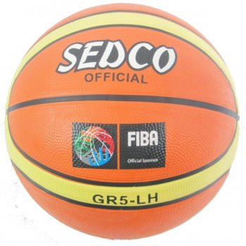 Basketbalová lopta SEDCO Orange Super 5