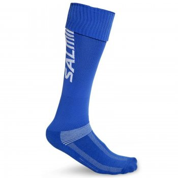 Anatomické štulpne SALMING Coolfeel Socks Long Royal - modré