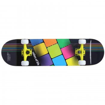 Skateboard NILS Extreme CR 3108 SB Colors of Life