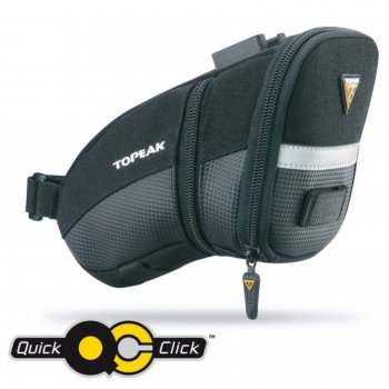 TOPEAK brašňa podsedlová AERO WEDGE PACK Medium s Quick Click
