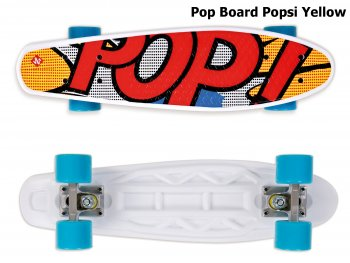 Skateboard STREET SURFING Pop Board Popsi Yellow - žltý