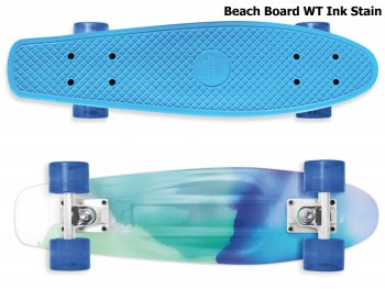 Skateboard STREET SURFING Beach Board WT Ink Stain