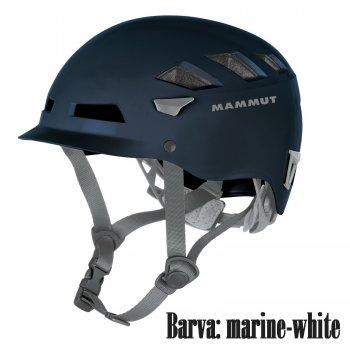 Horolezecká prilba MAMMUT El Cap marine-white c4b53e7edaa