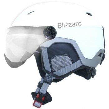Lyžiarska prilba Blizzard Double Visor 56-59 - biela d103bb0da88