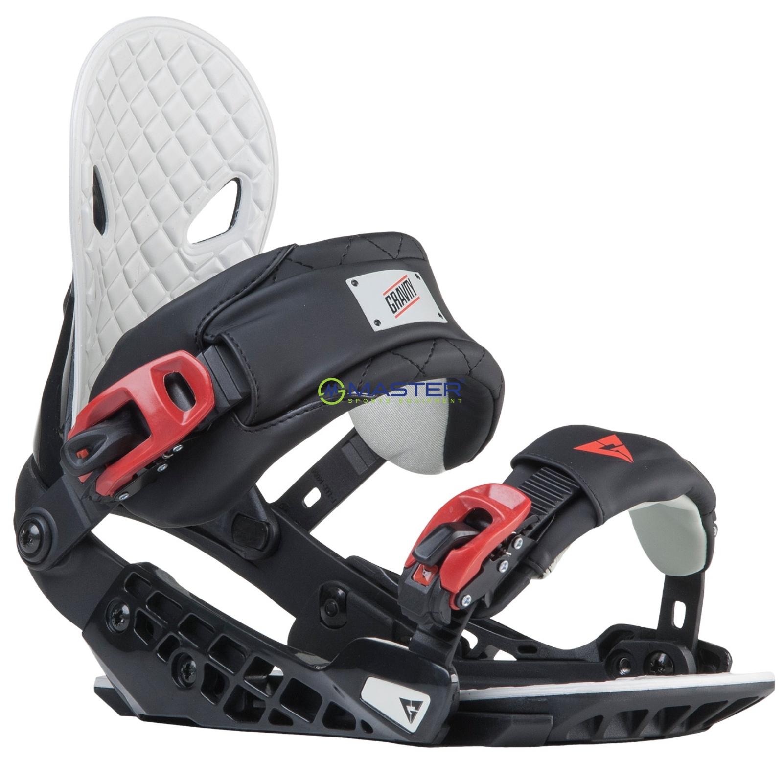 3c3736671 Snowboard viazanie GRAVITY G2 - čierne - M   NAJLACNEJSISPORT.SK