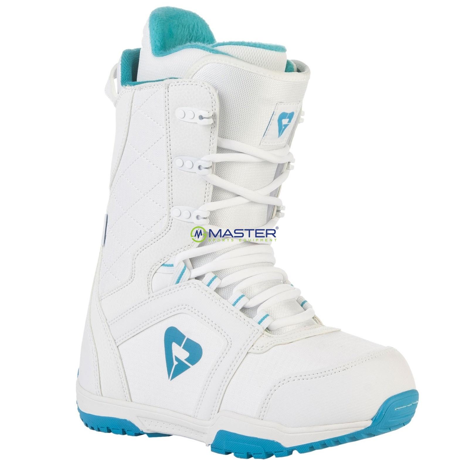 Topánky na snowboard GRAVITY Aura - biele - veľ. 40 ... 77243e7bf1c
