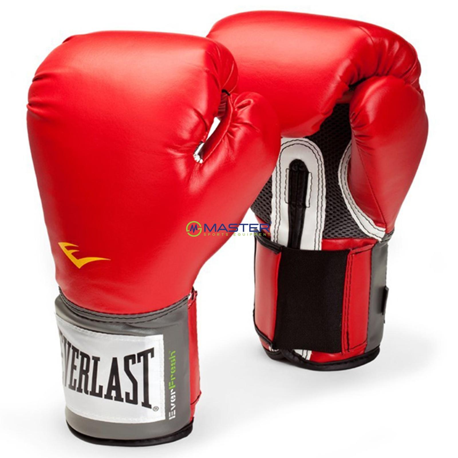 Boxerské rukavice EVERLAST Pro Style - červené 8oz ... 2bf72b6496