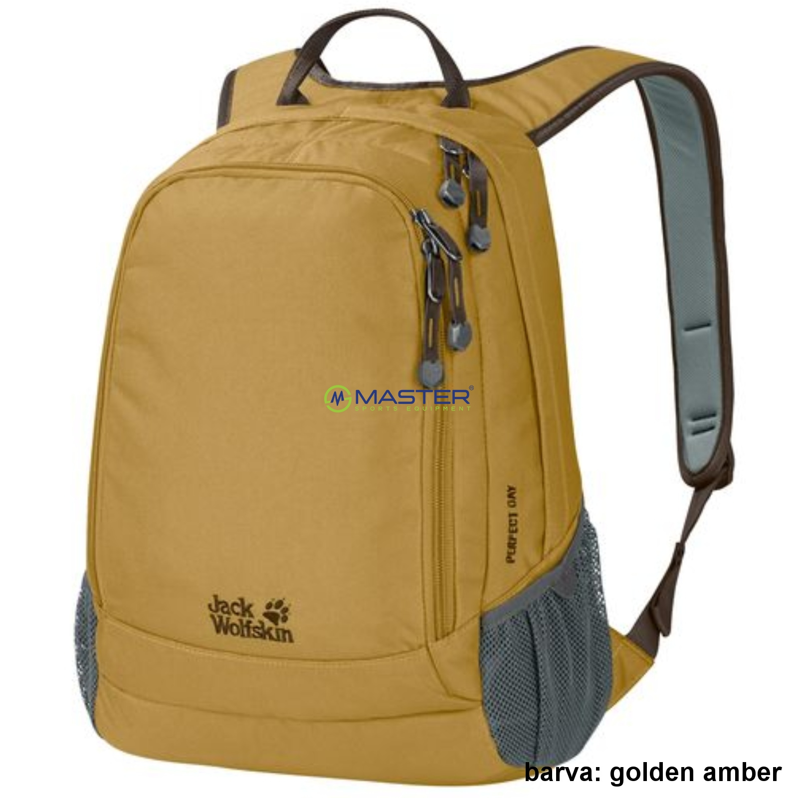 2a9bee7a26 Mestský batoh JACK WOLFSKIN Perfect Day 22 l - golden amber ...