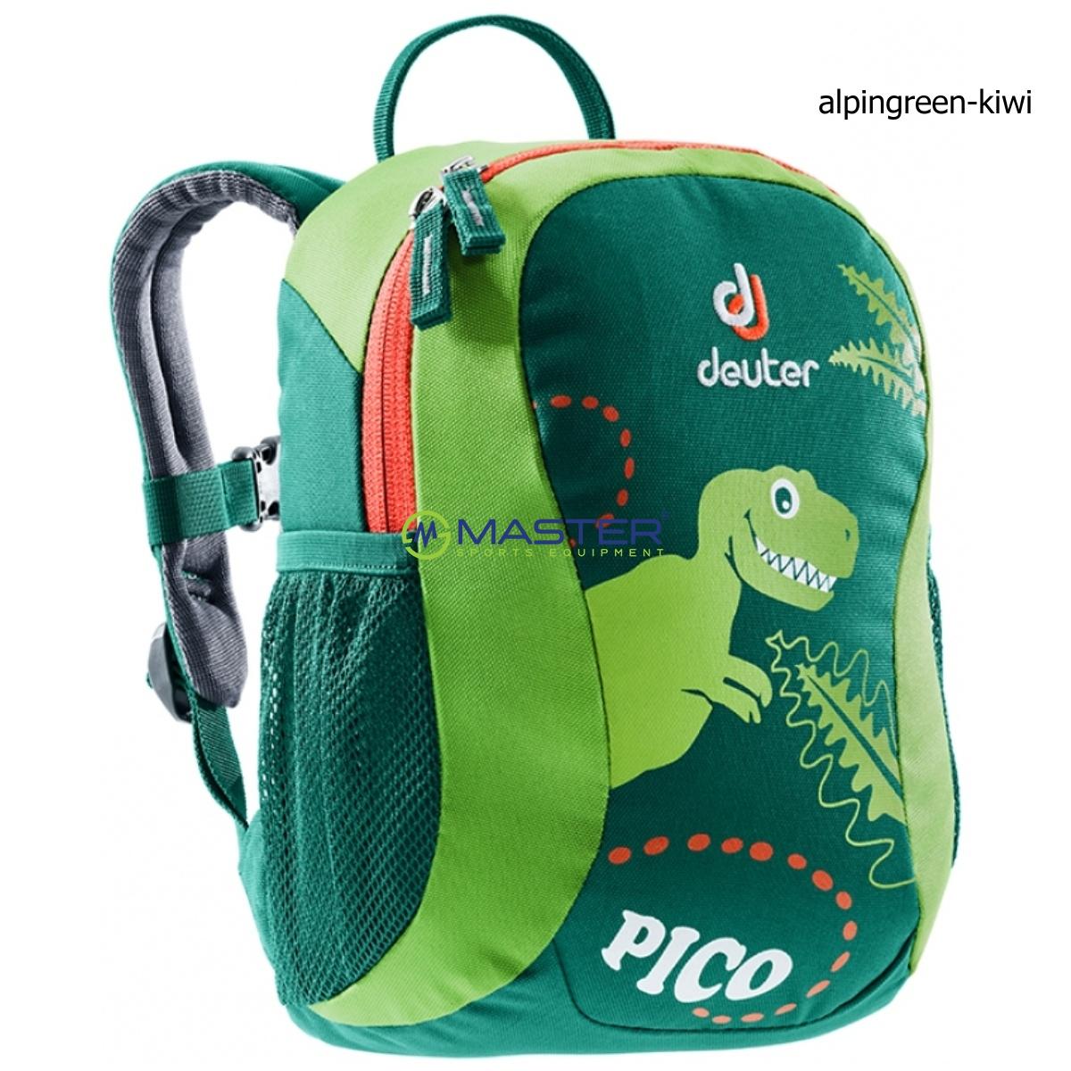 3014ec30e47e Detský batoh DEUTER Pico 5 l - alpinegreen-kiwi