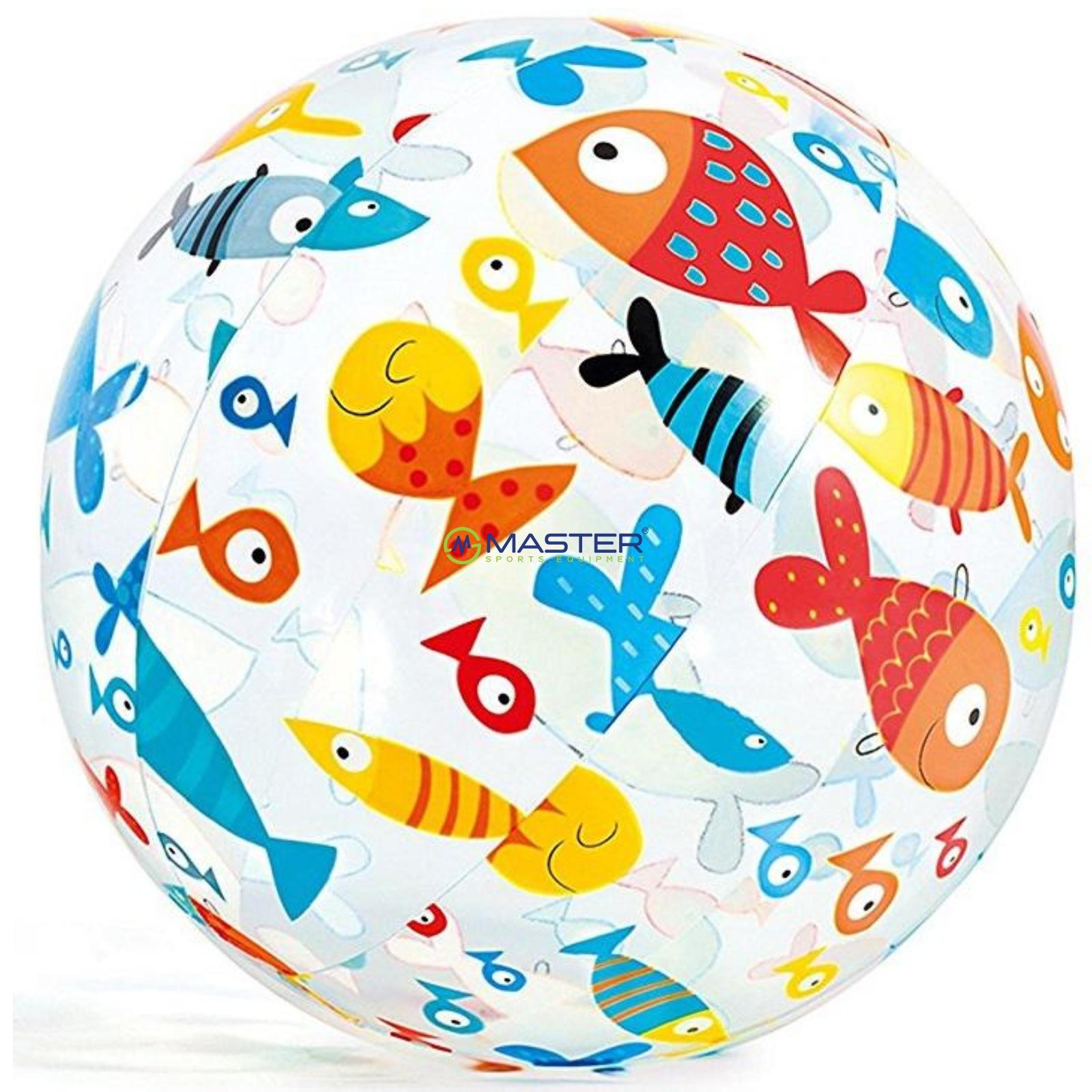 de497073c Nafukovacia plážová lopta s potlačou 51 cm | NAJLACNEJSISPORT.SK