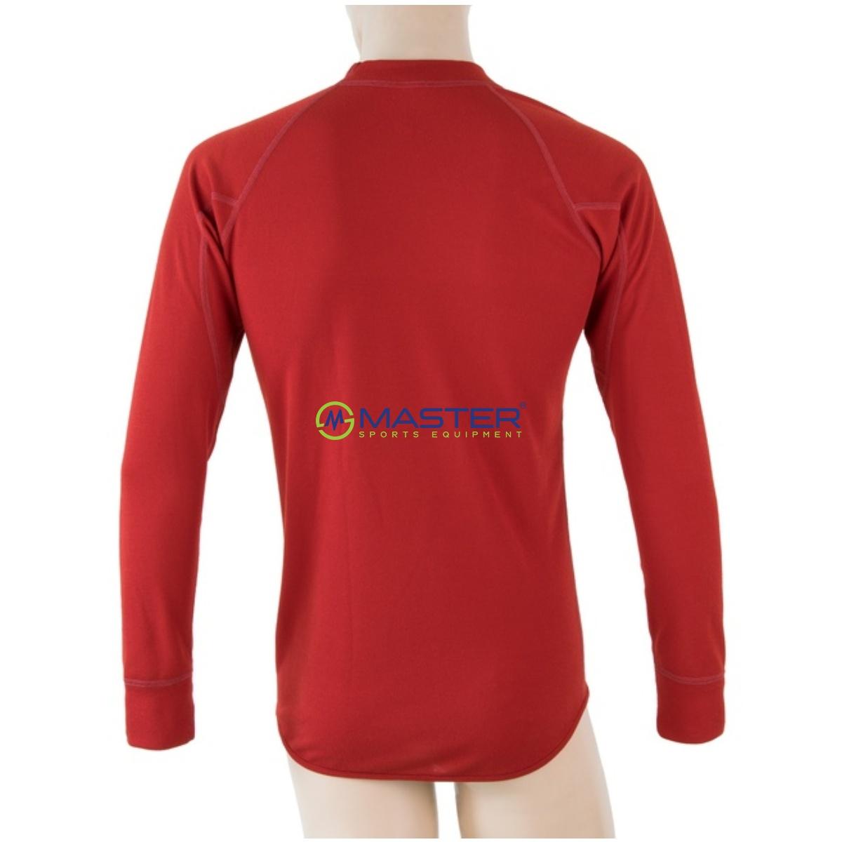 685cd2bc7b00 Tričko dlhý rukáv SENSOR Double Face pánske tmavo červené. -14%