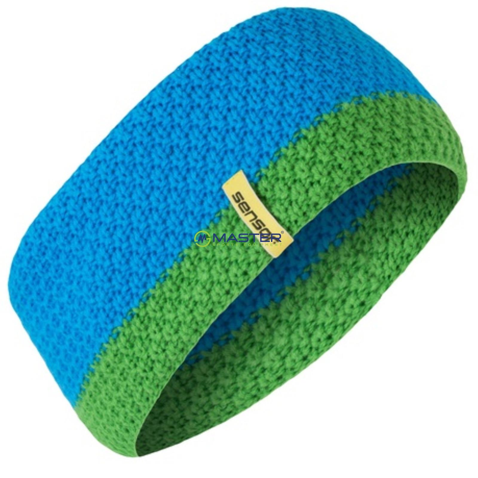 616d20aabae Čelenka SENSOR pletená modrá