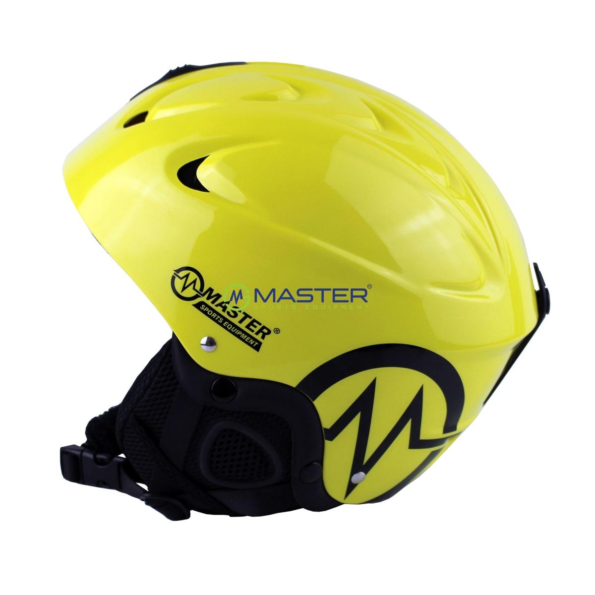 Lyžiarska prilba MASTER Freeze žltá. -16% b903db204a2